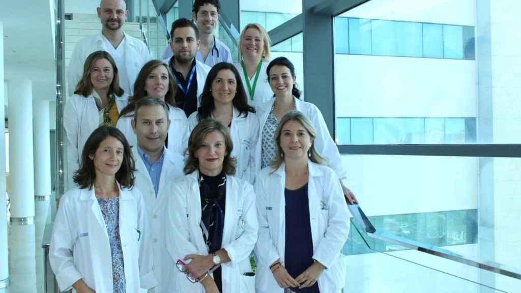 Nos y su grupo de investigación en enfermedad inflamatoria intestinal del IIS La Fe.