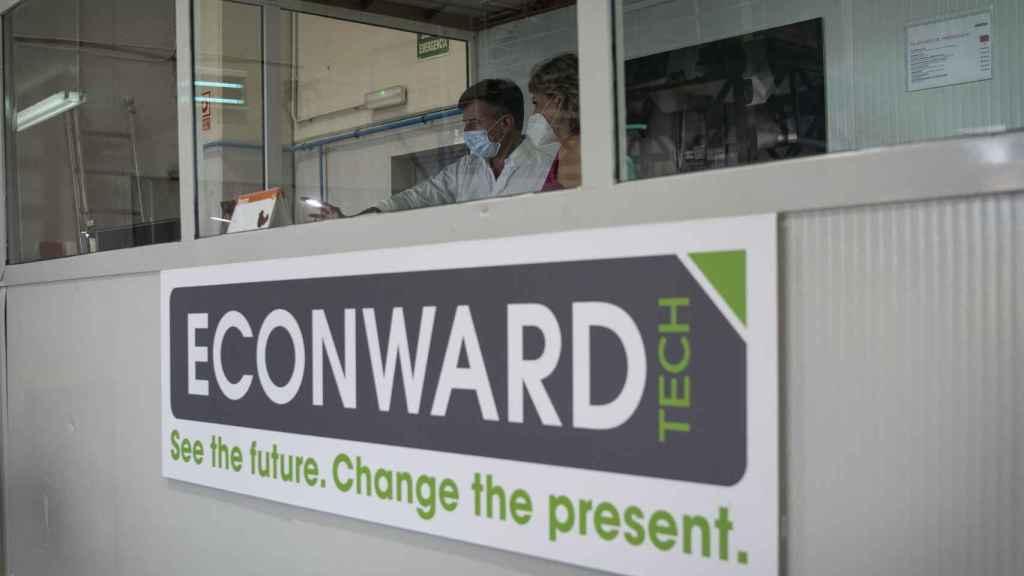 Sala de control de Econward
