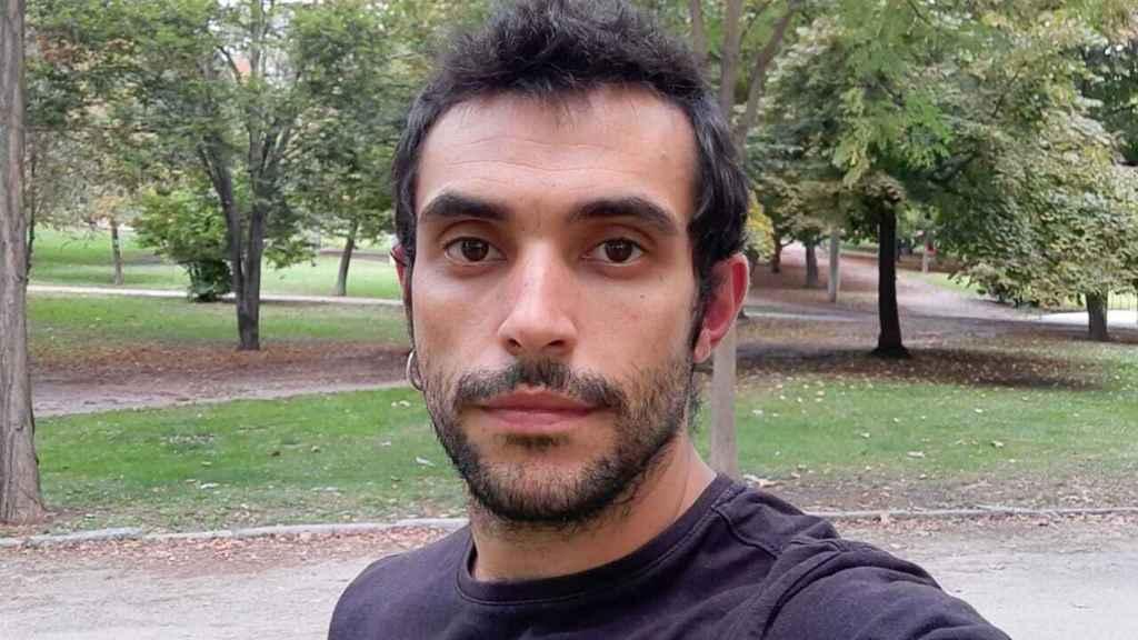Alberto Colomo, profesor de secundaria en Madrid.