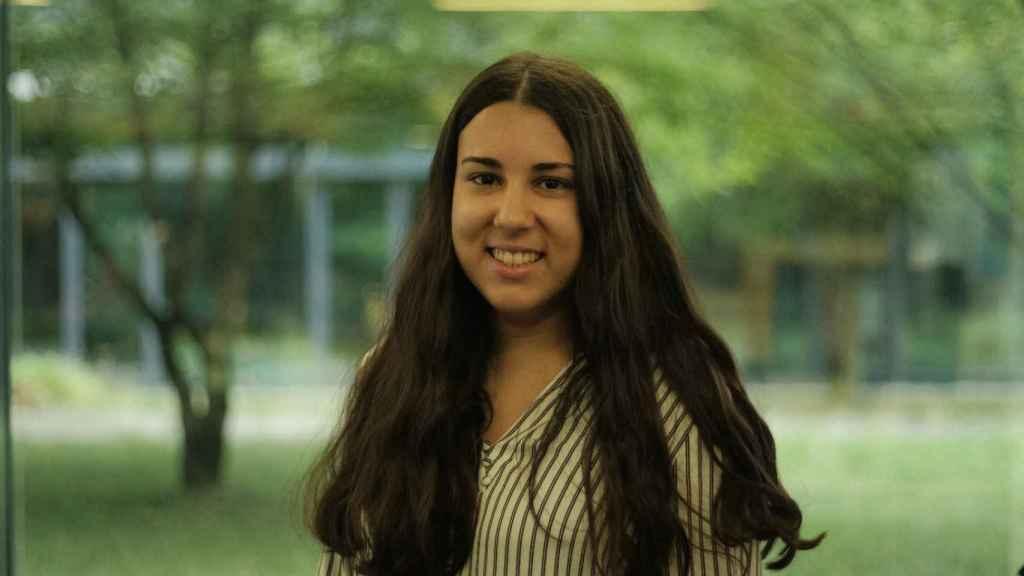 Esther Cruz estudia el doctorado en Alemania.