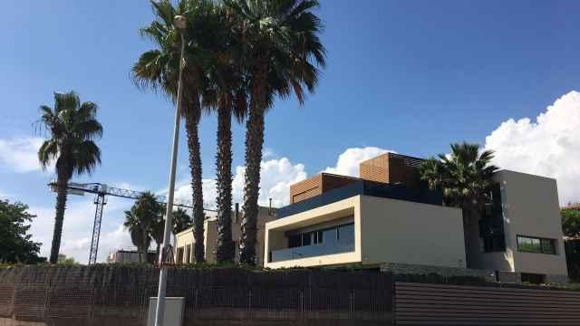 Imagen de una casa en Gavà Mar, una urbanización de clase media-alta cerca de Barcelona.