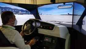 Aeropuertos virtuales para aprender a conducir: Aena implanta su primer simulador SICAM en Alicante.