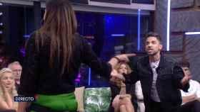Miguel Frigenti e Isabel Rábago han protagonizado un duro enfrentamiento en 'Secret Story'.