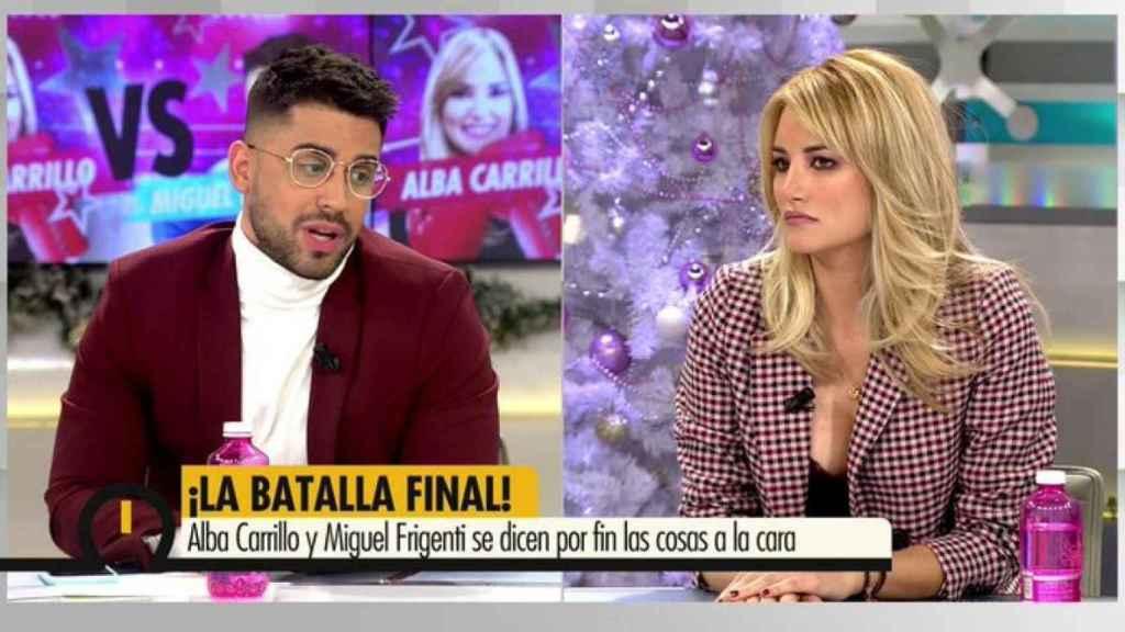 Frigenti asegura que en 'YEM Fresh' no gustó su postura crítica con Alba Carrillo.