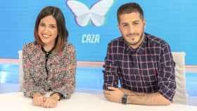 Nuria Marín y Nando Escribano presentaron 'Cazamariposas' durante sus casi 7 años de emisión.