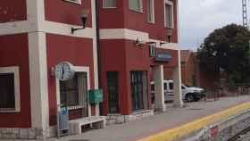 Imagen de la estación de Adif en Cabezón de Pisuerga (Valladolid)