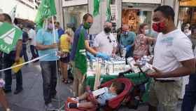 Dos Santos  ICAL . Asaja y la Alianza UPA COAG convocan un acto de protesta