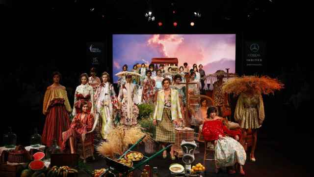 Desfile de Duyos en la Fashion Week Madrid.
