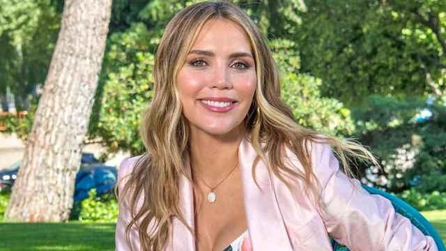 Rosanna Zanetti, en una imagen de sus redes posando para el especial de 'Corazón' de RTVE.