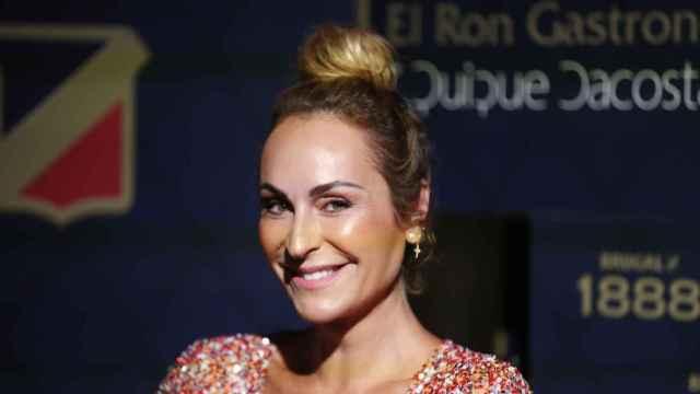 Ana Milán, en el evento de Brugal.