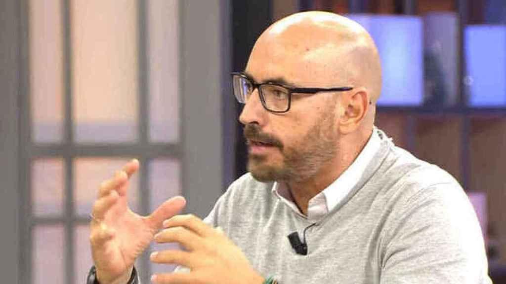 Diego Arrabal en el plató de 'Viva la vida'.