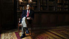 El escritor nicaragüense y Premio Cervantes Sergio Ramírez, fotografiado en Madrid esta semana.