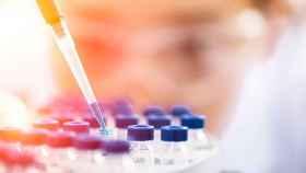 Imagen de un laboratorio en un estudio durante la Agencia Mundial Antidopaje