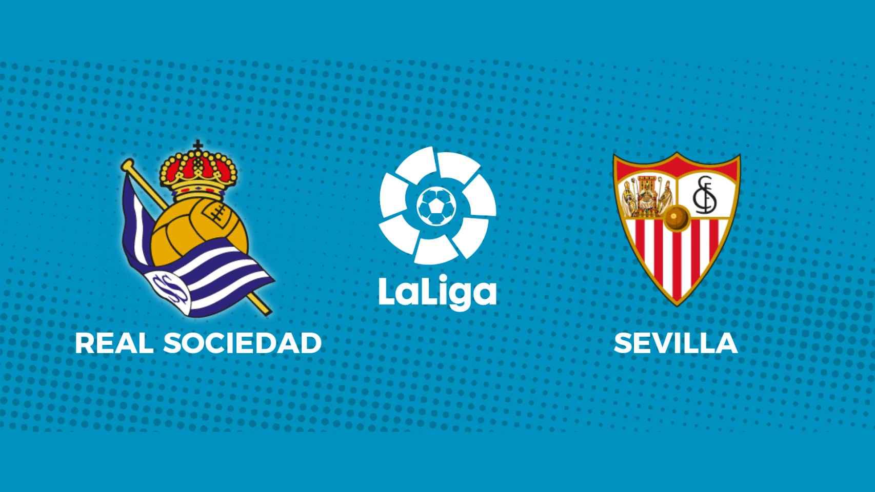 Real Sociedad - Sevilla: siga en directo el partido de La Liga