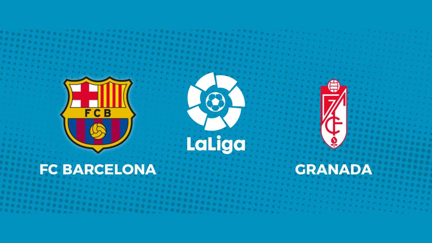 FC Barcelona - Granada: siga en directo el partido de La Liga