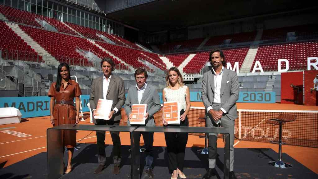 Firma del acuerdo de continuidad del Mutua Madrid Open hasta 2030