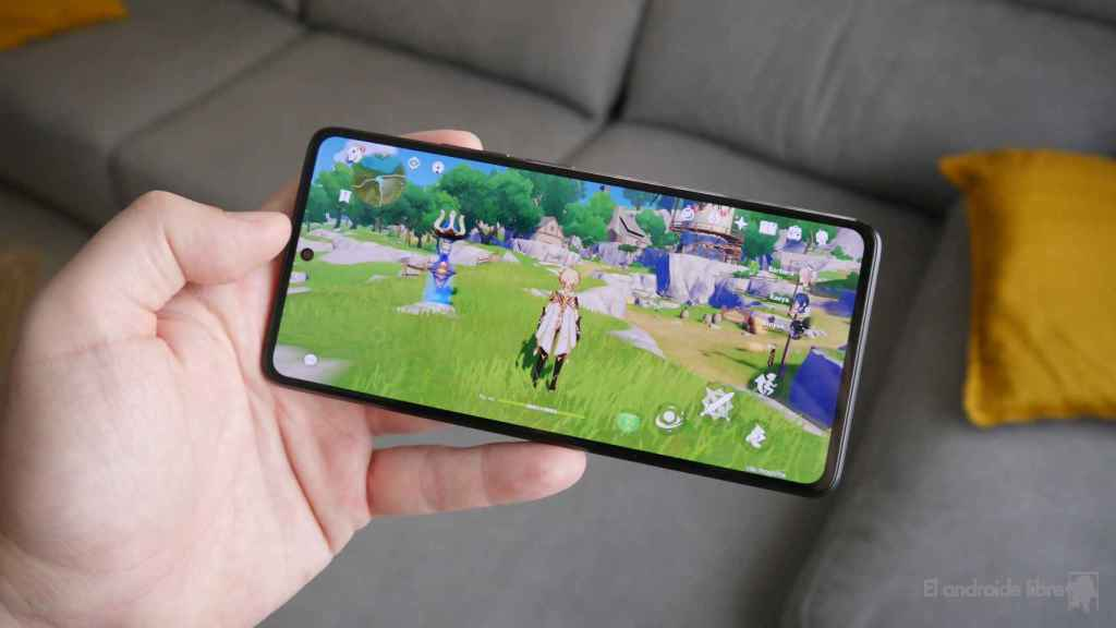 Genshin Impact va genial en el Xiaomi 11T Pro