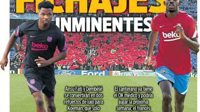 Portada Sport (17/09/21)