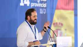 Paco Núñez, presidente del PP de Castilla-La Mancha, en una imagen de archivo.