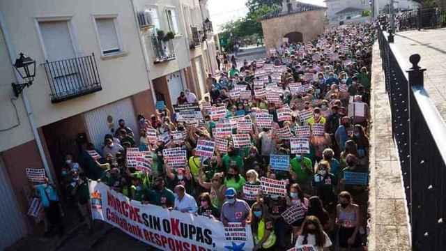 Vecinos de Horche (Guadalajara) se concentrarán este sábado en el Congreso contra los okupas
