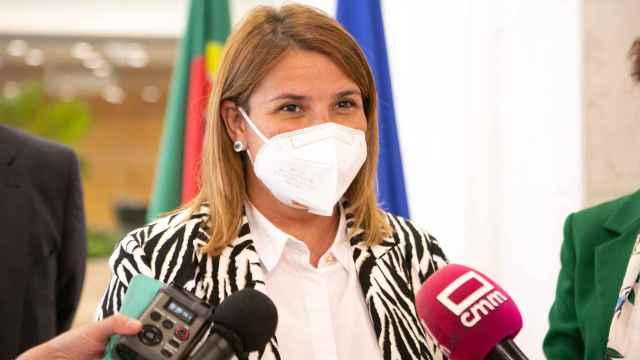 Tita García, alcaldesa de Talavera, en una imagen de archivo