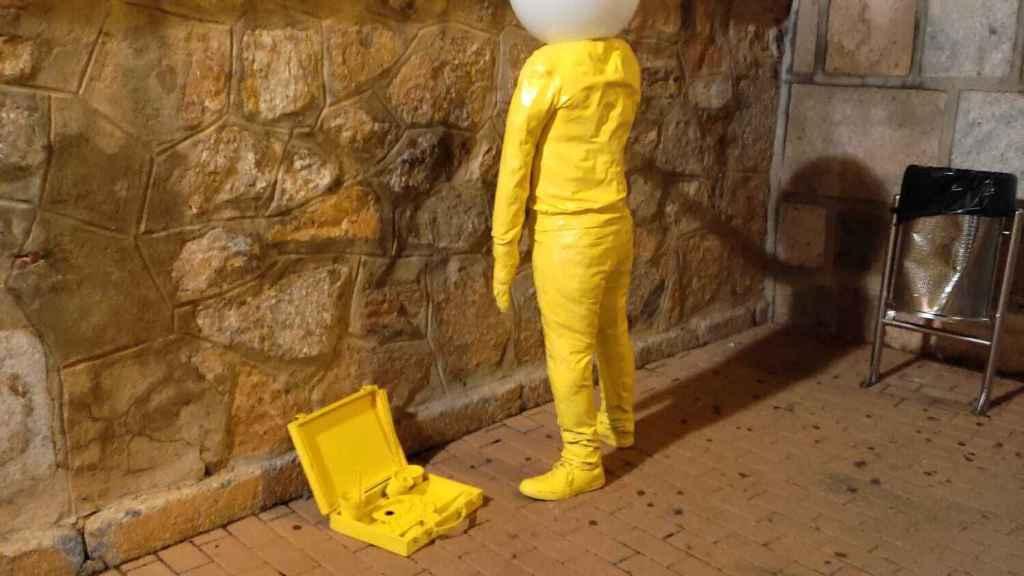 ¿Qué hacen estas curiosas figuras que han aparecido en Consuegra?
