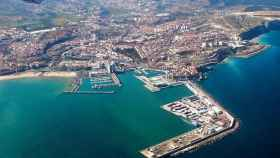 Vista aérea de Melilla.
