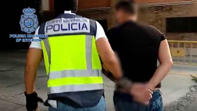Detencion del miembro de la Camorra napolitana.