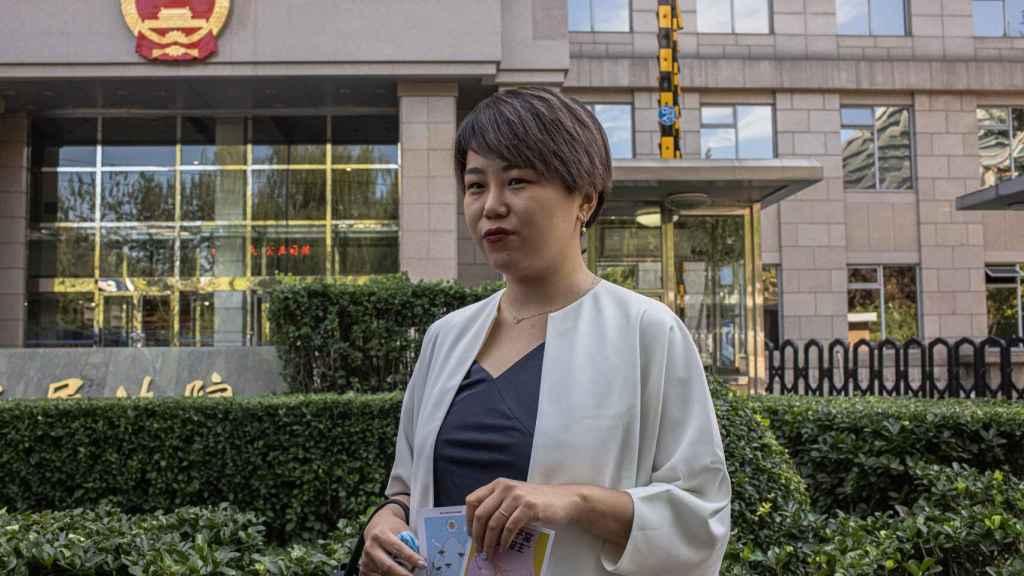 Teresa Xu encabeza las protestas contra la prohibición de congelar óvulos a las solteras en China.