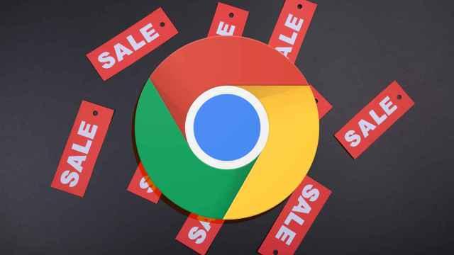 Chrome junto a ofertas.