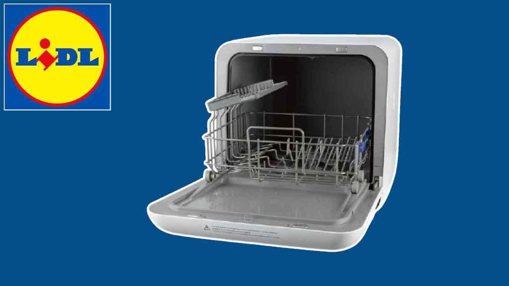 El lavavajillas compacto portátil de Lidl que arrasa en su web