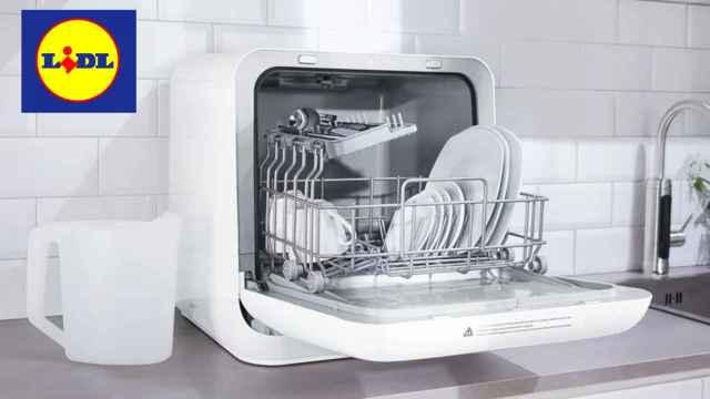 Lidl pone a la venta un lavavajillas compacto portátil a un precio muy competitivo.