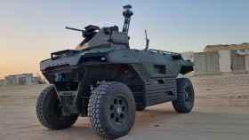 REX MKII, el nuevo robot de Isreal para patrullar fronteras.