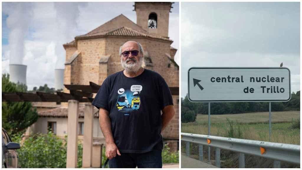 Juan, un extrabajador de la central nuclear de Trillo.