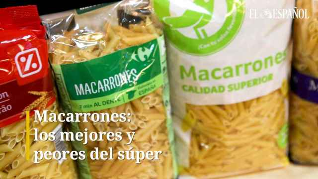 Pasta de Macarrones: Los mejores y peores del súper