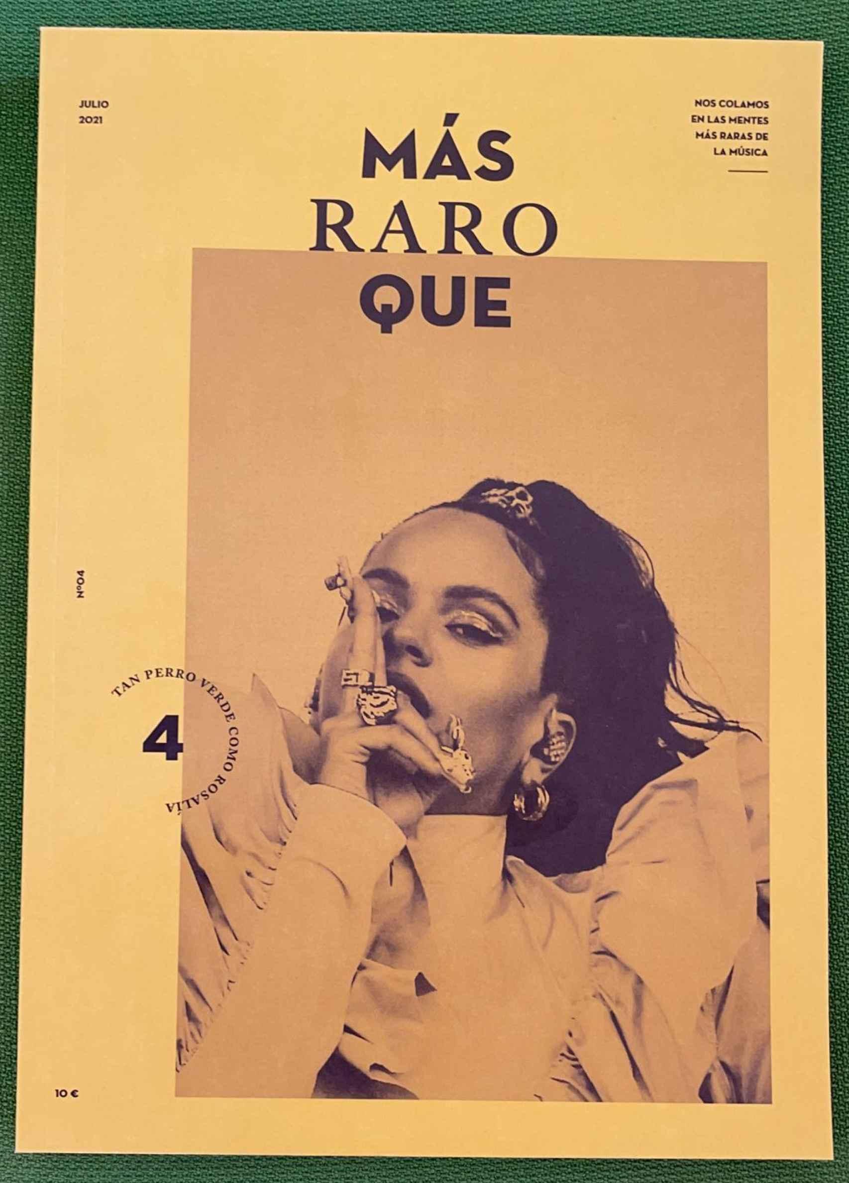 """""""Más Raro Que"""", una revista nacida de un vino de Rueda."""