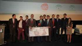 La última vez que se celebraron los premios de AJE Andalucía en Málaga, en 2012