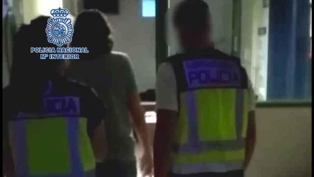 Una de las operaciones de detención de la Policía Nacional en Alicante.