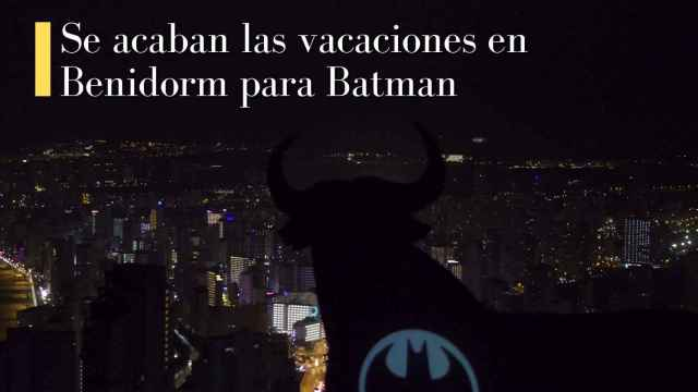 Benidorm llama a Batman para celebrar el nuevo libro del héroe