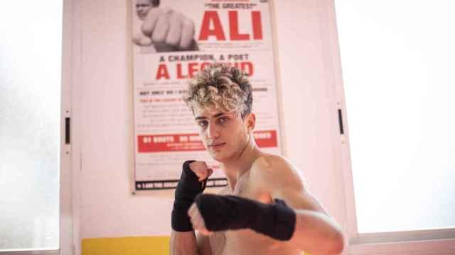 Rubén, campeón de Muay Thai y modelo