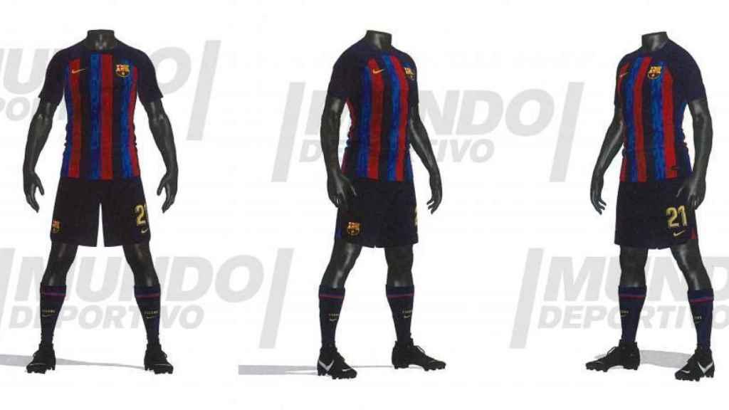 La primera equipación del Barça para la temporada 2022/2023