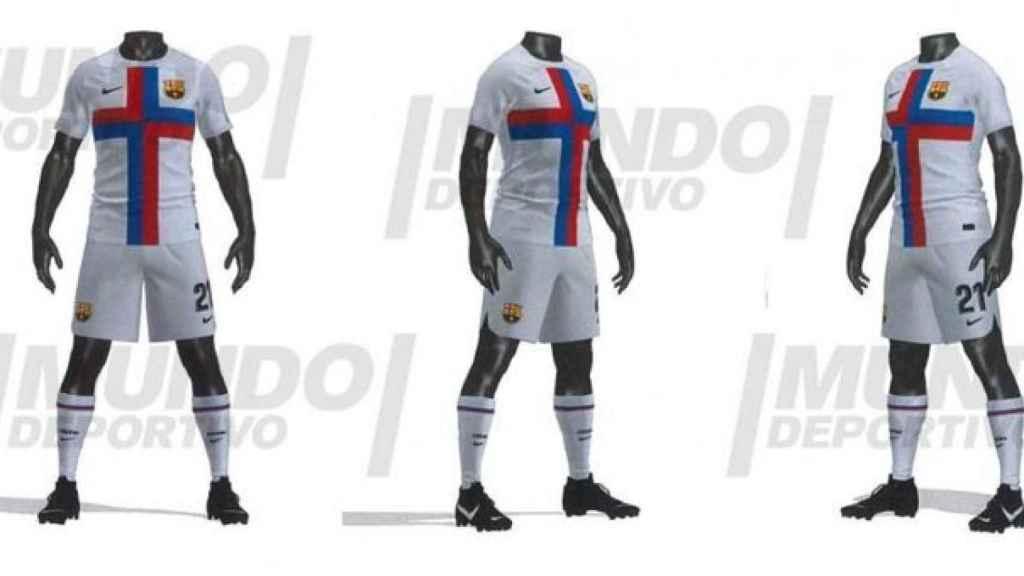La tercera equipación del Barça para la temporada 2022/2023
