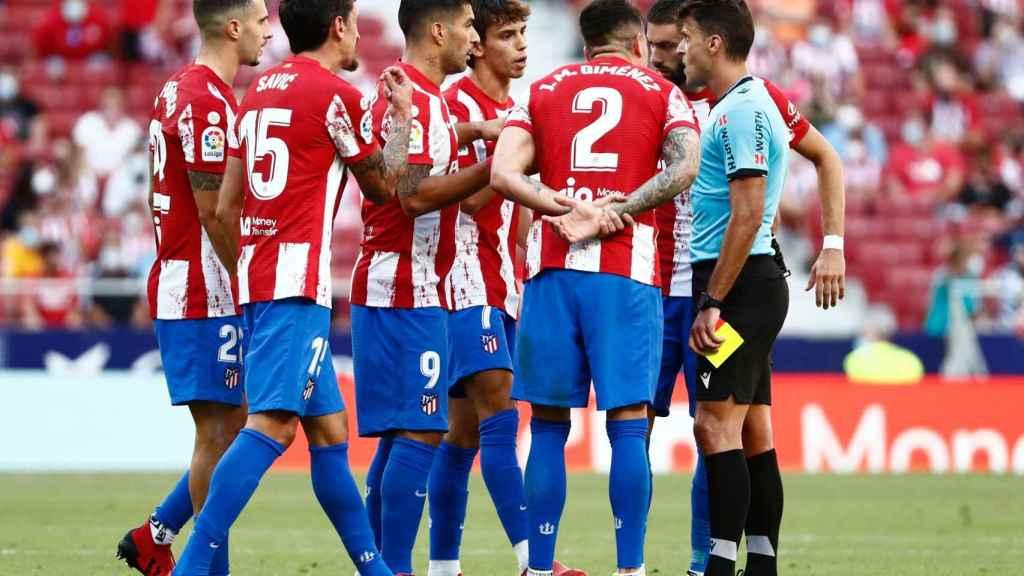 Joao Félix, tras su expulsión en el Atlético de Madrid - Athletic Club