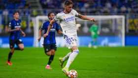 Fede Valverde, ante el inter de Milán