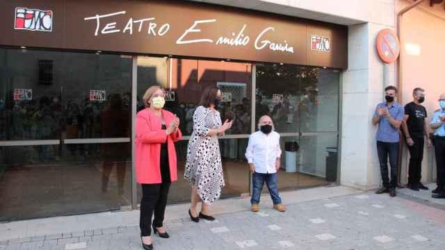 Las imágenes del día en Castilla-La Mancha: el actor Emilio Gavira ya da nombre al teatro de Alcázar