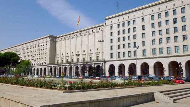 La sede del Ministerio de Transportes, Movilidad y Agenda Urbana, en Madrid.