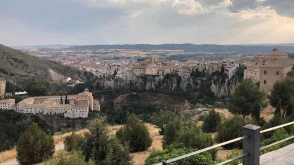 Vista panorámica de la ciudad de Cuenca.