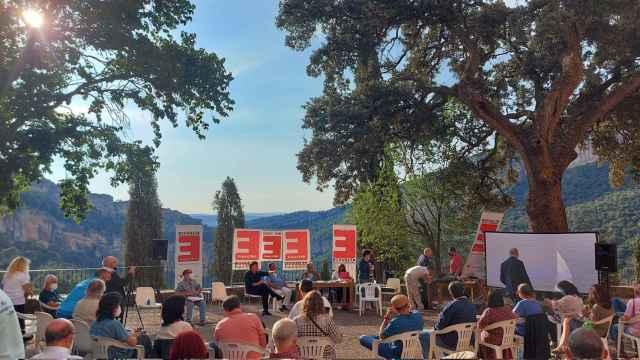 Una imagen del encuentro de la España Vaciada en Priego (Cuenca). Foto: @plataforma102