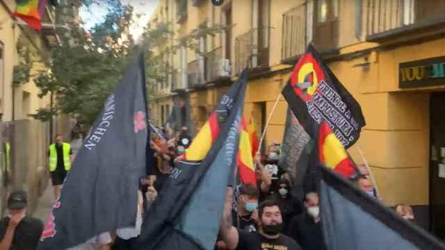 Captura de la manifestación.