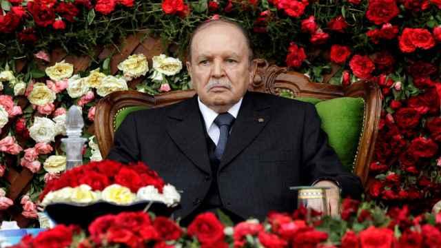 Abdelaziz Bouteflika, expresidente de Argelia, en una imagen de archivo.